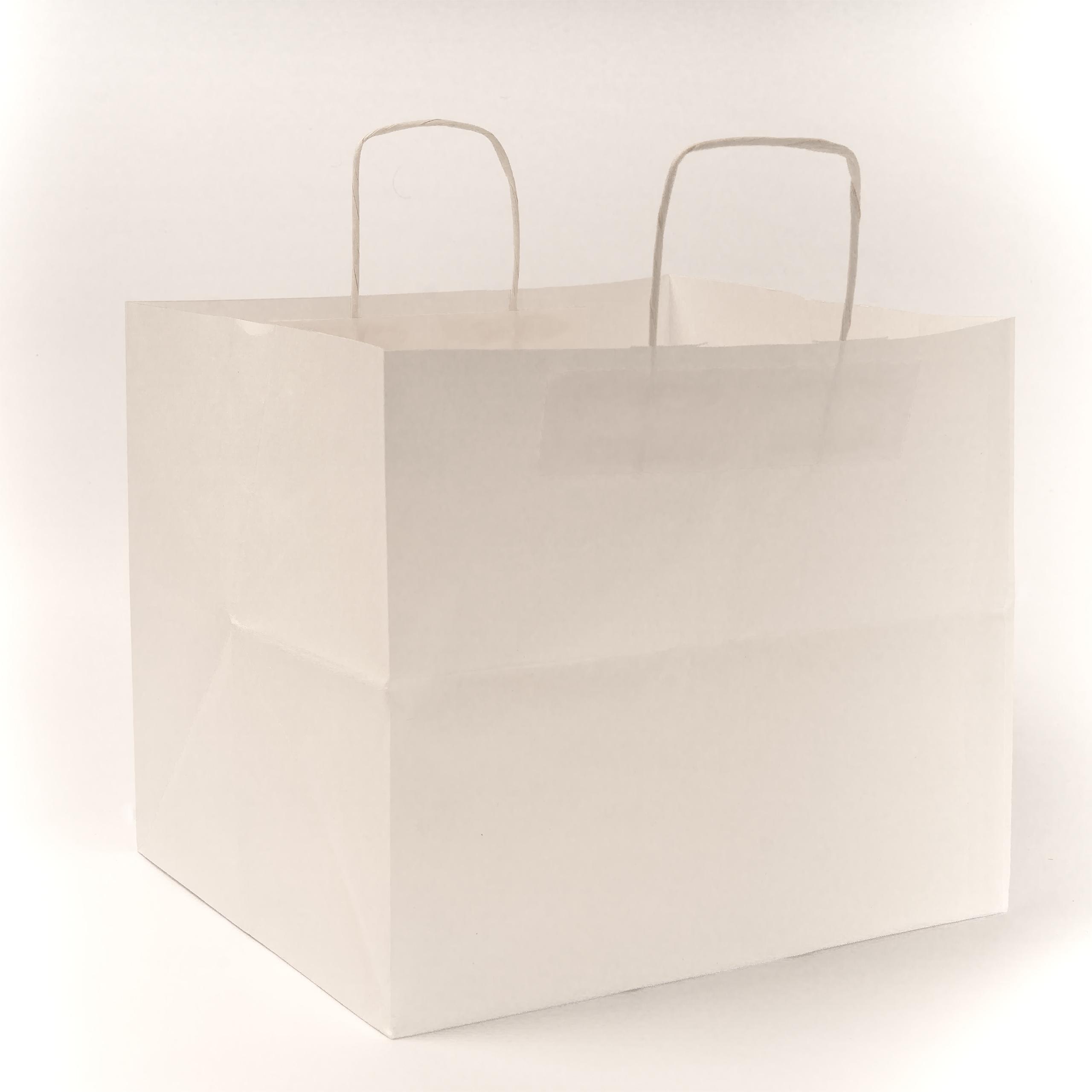 EL CARMEN Bolsa de papel Celulosa | Asa de papel retorcida