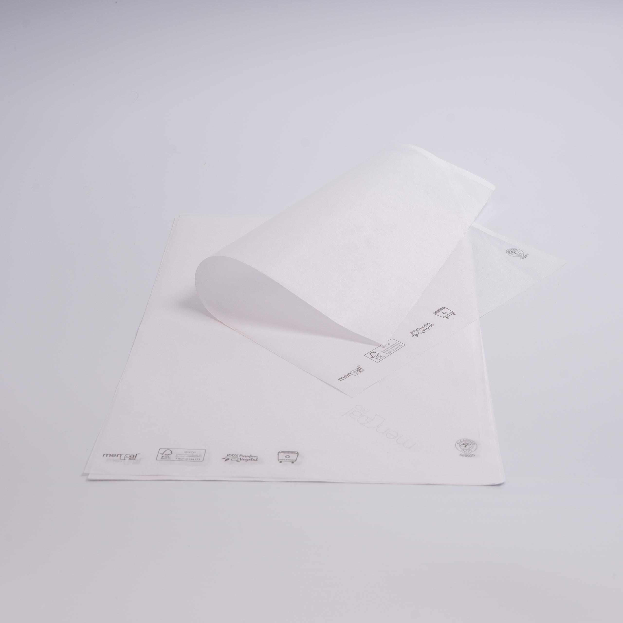 EL CARMEN Papel Menpal BIO FSC   biodegradable y compostable   38 X 54 cm