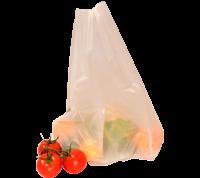 Sacs à bretelles compostable translucide