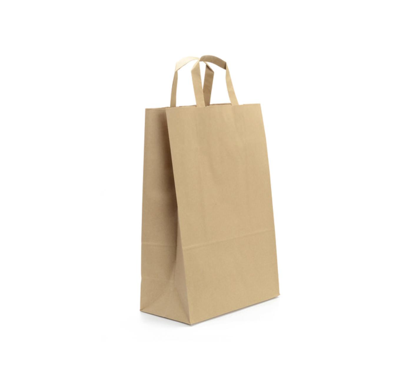 0ae1fadf8 Bolsas de papel de asa rizada | Bolsas de papel kraft